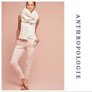 Anthropologie Dylan Stitched Joggers Pink XS